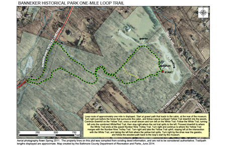 Trail Map One Mile Loop